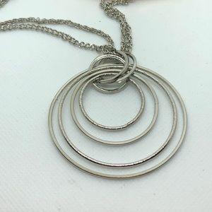 torrid Jewelry - Silver Torrid Circle Necklace